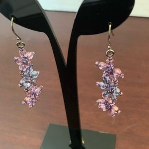 Earrings authentic Chrystal 🍒